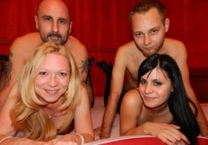 JackHart+BlondeJill+HeisserPete+Ann - gruppen livesex